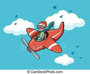 feliz, piloto