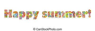 feliz, summer!