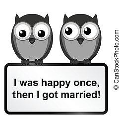 feliz, uma vez