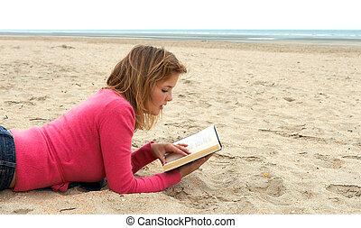 felolvasás, a parton