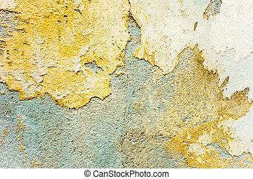 felszín, homokkő, háttér, grungy, fal