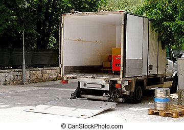felszabadítás furgon