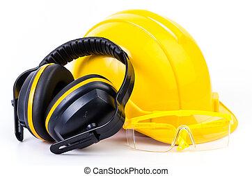 felszerelés, biztonság
