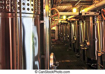 felszerelés, bor, gyártás