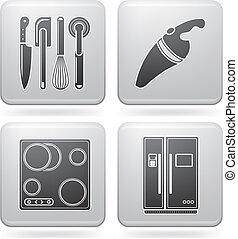 felszerelés, konyha