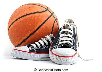 felszerelés, kosárlabda