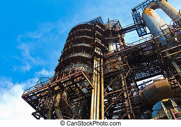 felszerelés, metallurgical, művek