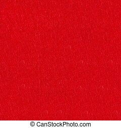 Felt background in red color. Seamless square background, tile ready.