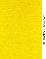 Felt Fabric Texture - Bright Yellow - High resolution close...
