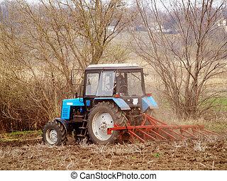 felt, traktor