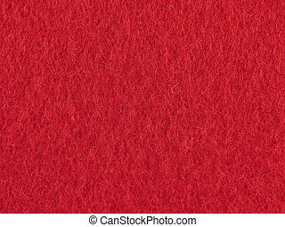 feltro, fundo, vermelho