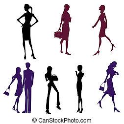 femal silhouette