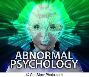 Female abnormal psychology inkblot