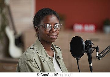 Female African-American Musician