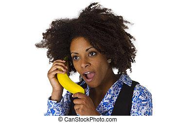 Female afro american