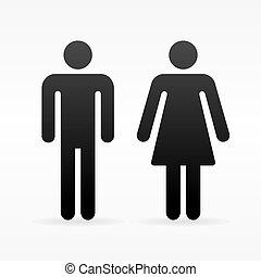Female and Male symbol