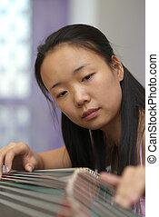Asian musician