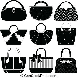 Female Bag Handbag Purse Woman - 9 handbags for women.