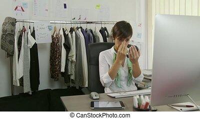 Female Beauty Make-up Businesswoman