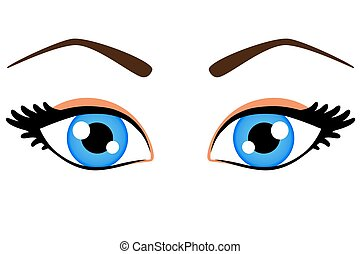 blue eyes clip art vector graphics 22 943 blue eyes eps clipart rh canstockphoto com big blue eyes clipart blue eyes clipart