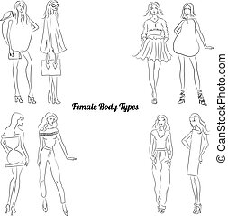 Female Body Types and Body Shapes