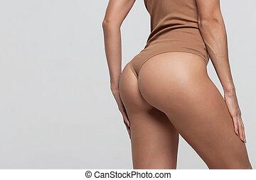 Nude asia girl in public