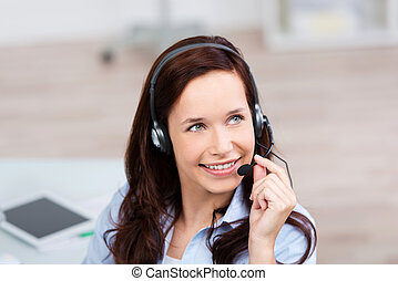 Female call center