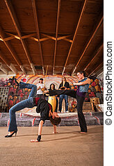 Female Capoeira Performers