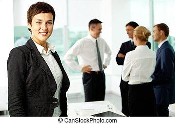 Female colleague