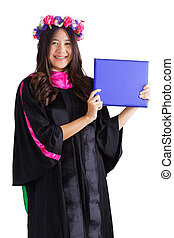 Female college graduate