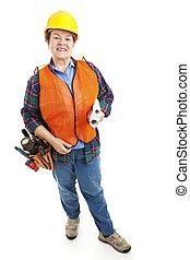 Female Construction Foreman