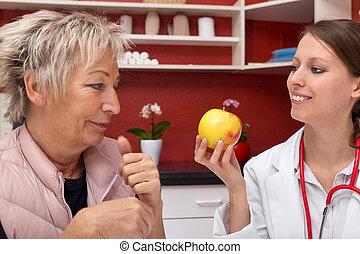 concept healthy nutrition