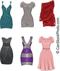 Female dresses - Set of female dresses