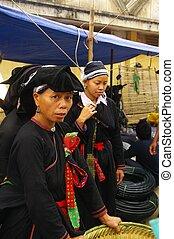 Female ethnic Dao Mang