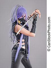 Female fantasy warrior