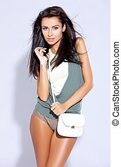 Female fashion model - Beautiful female fashion model...