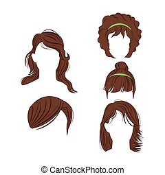 female hair styles design