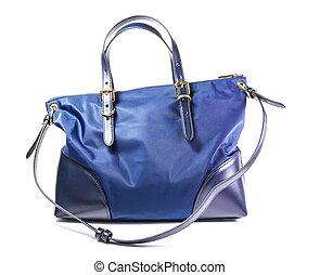 Female handbag isolated on white background