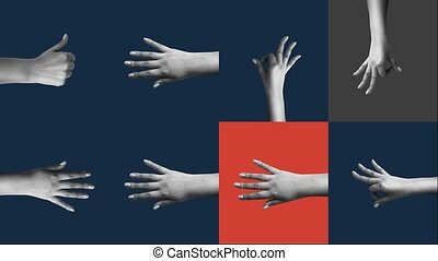 """""""Female hands showing cheerful gestures"""" - """"Amazing 3d ..."""