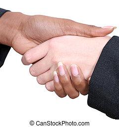 Female Handshake
