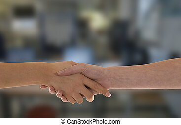 Female Handshake