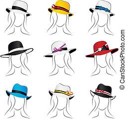 Female hats