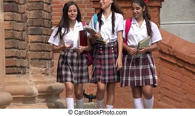 Female High School Students