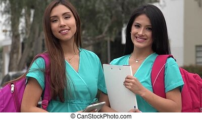 Female Hispanic Nursing Students