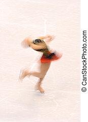 Female Ice-Skater
