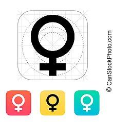 Female icon.