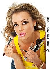 female makeup