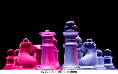 female male chess
