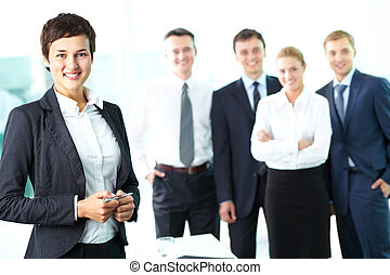 Female manager