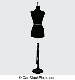 Female Mannequin - The modern sartorial female mannequin....